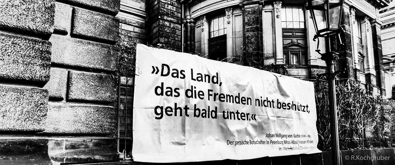 Dreden-Plakat-Goethe-Zitat