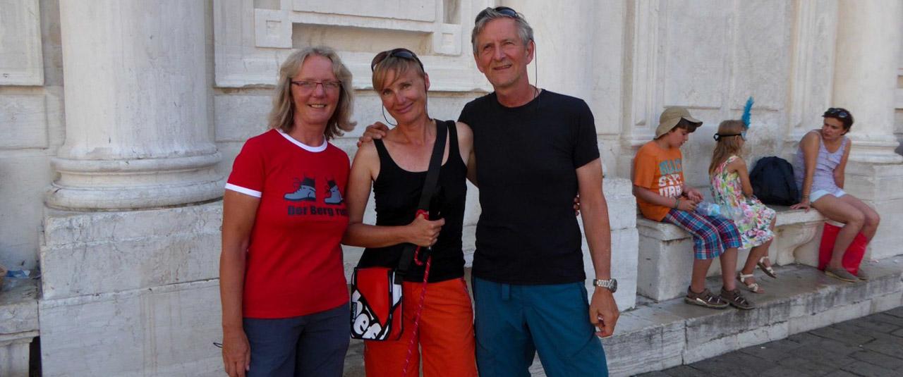 zu fuss von München nach Venedig-Beate Piehler-Venedigwanderer-Venedig
