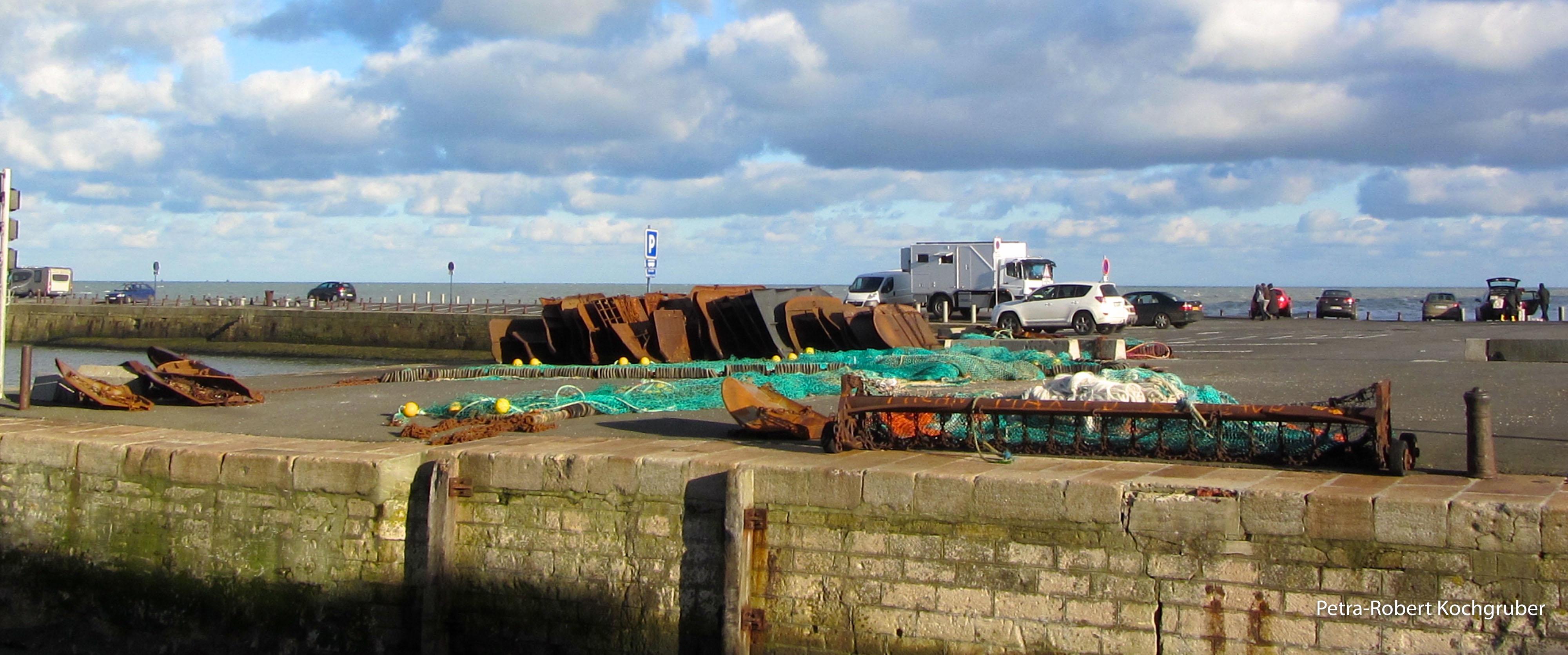 Port-en-Bessin-Fischerhafen-wohnmobil-in-der-normandie