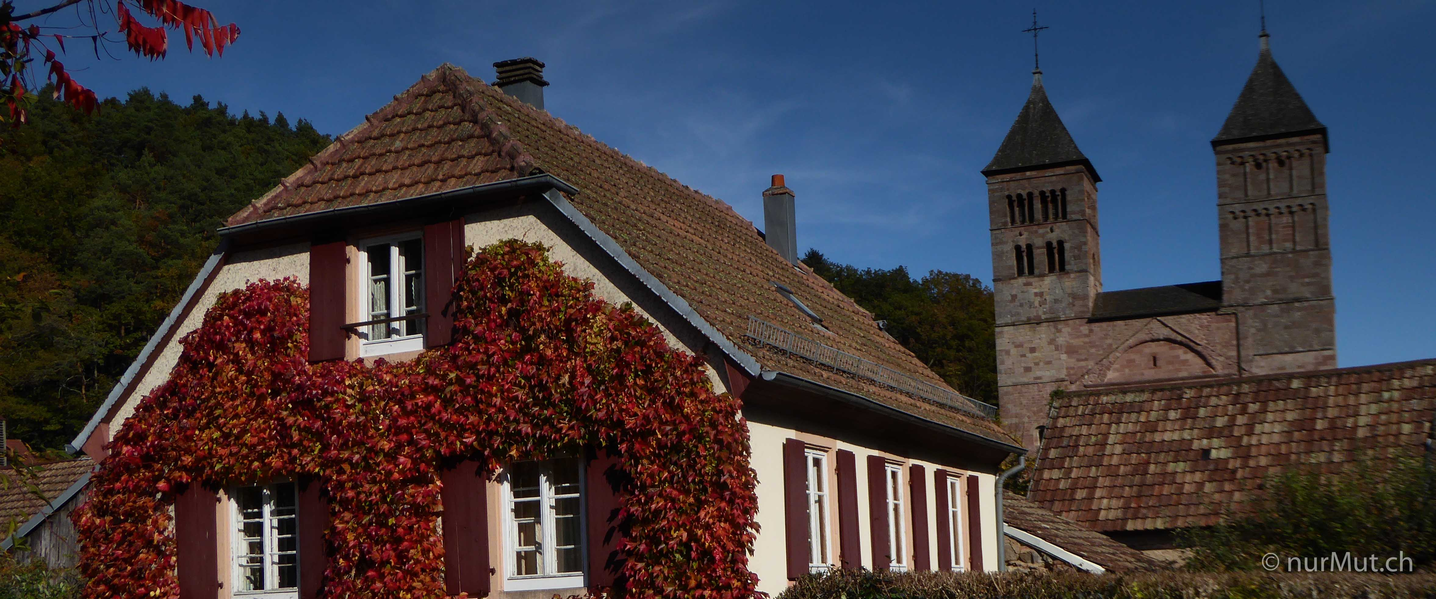 Herbstlicher Suedwesten-Elsass-Murbach
