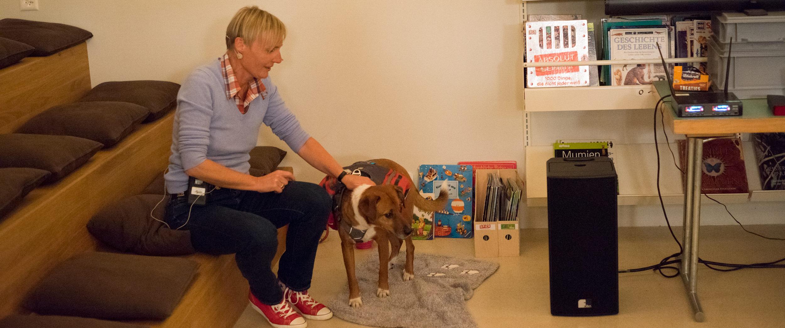 Lesung einmal anders-BiblioGais_Ein Hund, sein Rudel und drei Rucksaecke