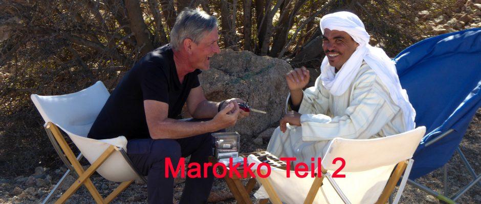 marokkanische berber-marokko-nurmut-marokko mit wohnmobil
