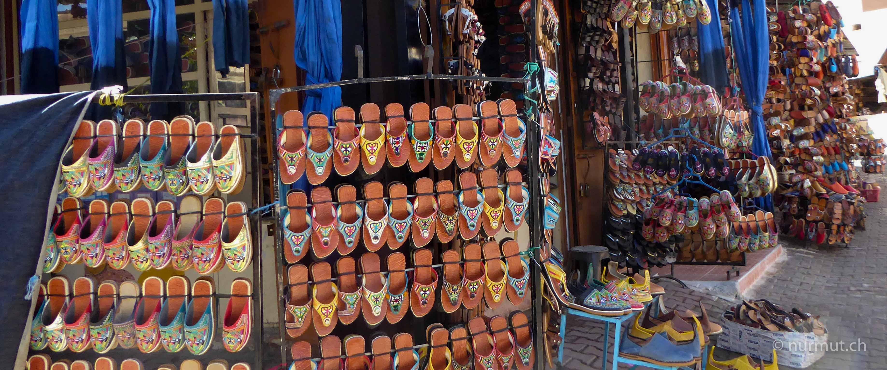 infos marokko mit hund-tafraoute-babouches-nurmut