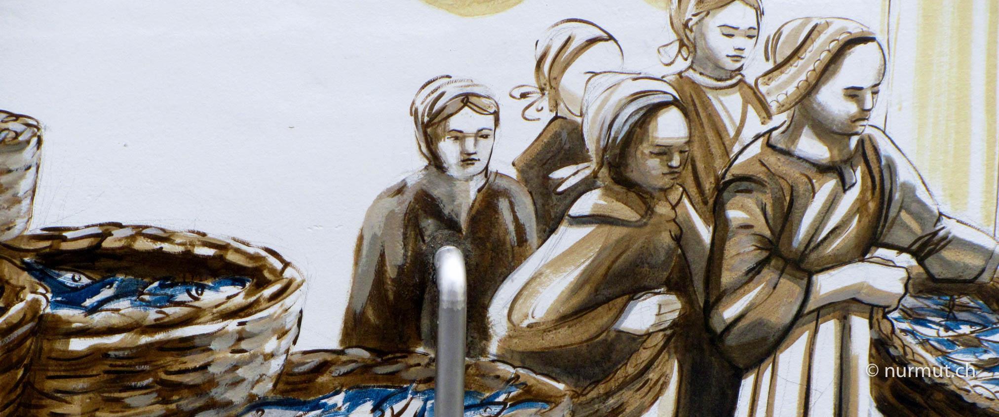 Bretagne-mit-Wohnmobil-und-Hund-Quiberon-Fischersfrauen